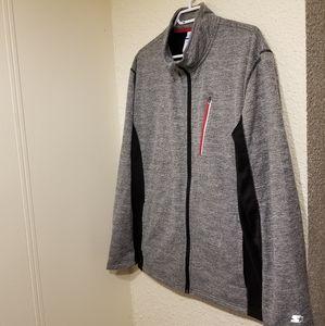 2000s Starter Zip-Up Sweater